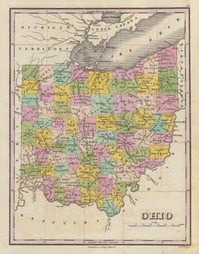 Map Of Ohio And Pennsylvania http://www.petersenprints.com/store/contents/en-us/d10.html